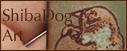 shiba dog art